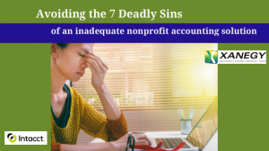 7 Deadly Sins of Nonprofit Accounting
