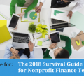 Live Online: The 2018 Survival Guide for Nonprofit Finance Teams